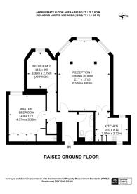 Large floorplan for Highbury New Park, Islington, N5