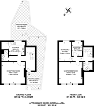 Large floorplan for Herne Hill, Herne Hill, SE24