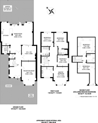 Large floorplan for Mount Pleasant Road, Brondesbury, NW10