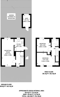 Large floorplan for Stirling Road, Whitton, TW2