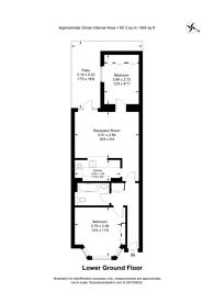 Large floorplan for Finborough Road, Chelsea, SW10