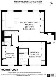 Large floorplan for West Eaton Place, Belgravia, SW1X