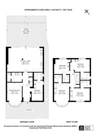 Large floorplan for Kenneth Crescent, Willesden Green, NW2