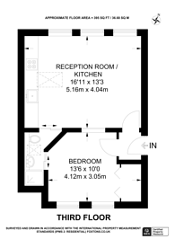 Large floorplan for Clerkenwell, Clerkenwell, EC1M