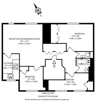 Large floorplan for Halsey Street, Chelsea, SW3