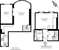 Large floorplan for Draycott Avenue, Chelsea, SW3
