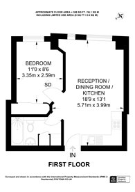 Large floorplan for Sloane Avenue, Sloane Square, SW3