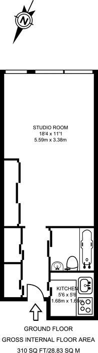 Large floorplan for Golden Lane Estate, Barbican, EC1Y