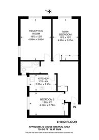 Large floorplan for Eton College Road, Belsize Park, NW3