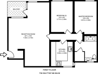Large floorplan for Lisson Grove, Lisson Grove, NW8