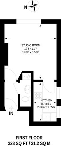 Large floorplan for Broughton Road, Ealing, W13