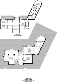 Large floorplan for Coombe Park, Coombe, KT2