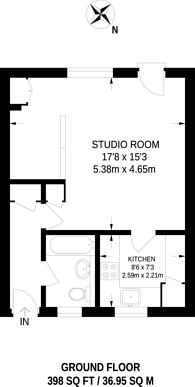 Large floorplan for Cochrane Street, St John's Wood, NW8