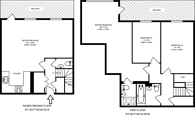 Large floorplan for Harry Zeital Way, Clapton, E5