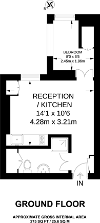 Large floorplan for Clapham Common South Side, Clapham Common South Side, SW4