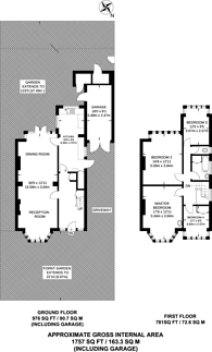 Large floorplan for Whitmore Road, Beckenham, BR3