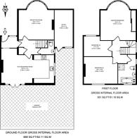 Large floorplan for Farm Avenue, Rayners Lane, HA2