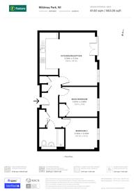 Large floorplan for Mildmay Park, Islington, N1