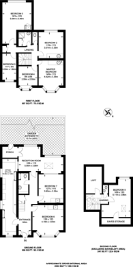 Large floorplan for Lankers Drive, Rayners Lane, HA2