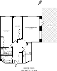 Large floorplan for Marylebone Road, Marylebone, NW1