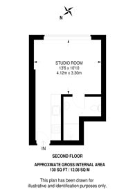 Large floorplan for Marloes Road, Kensington, W8
