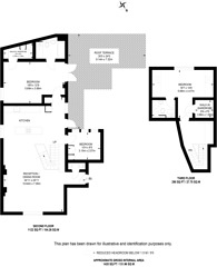 Large floorplan for West Street, Harrow on the Hill, HA1