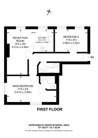 Large floorplan for Pratt Street, Camden, NW1