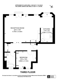 Large floorplan for Abbey Orchard Street, Westminster, SW1P
