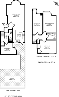Large floorplan for Moresby Road, Clapton, E5