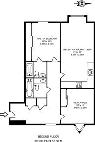 Large floorplan for Highbury Park, Highbury, N5