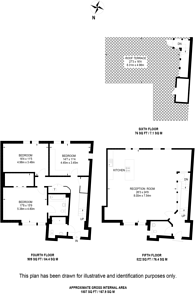 Large floorplan for High Holborn, West End, WC1V