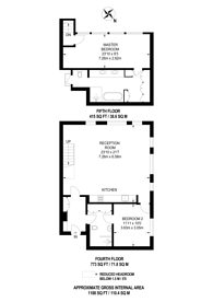 Large floorplan for Market Place, Marylebone, W1W