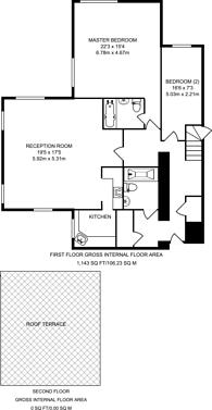Large floorplan for Princess Park Manor, Friern Barnet, N11