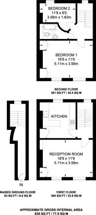 Large floorplan for Union Square, Islington, N1