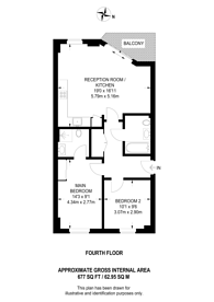 Large floorplan for Pancras Way, Bow, E3