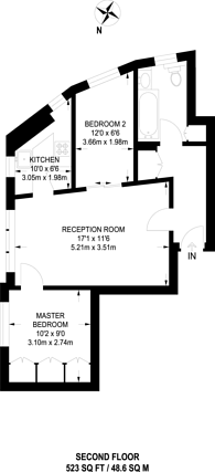 Large floorplan for Mortimer Crescent, Kilburn, NW6