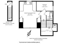 Large floorplan for Cambridge Gardens, North Kensington, W10
