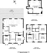 Large floorplan for Heathside Road, Woking, GU22