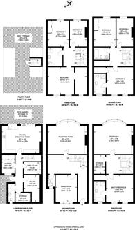 Large floorplan for Farm Street, Mayfair, W1J