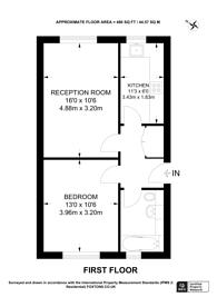Large floorplan for Clem Attlee Court, Fulham, SW6