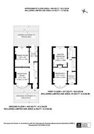 Large floorplan for Malden Way, New Malden, KT3