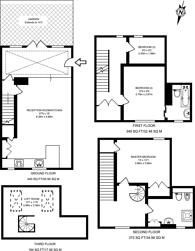 Large floorplan for Princeton Street, Bloomsbury, WC1R