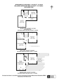 Large floorplan for Norman Road, South Wimbledon, SW19