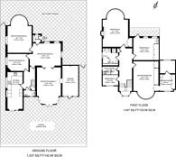 Large floorplan for Manor House Drive, Brondesbury Park, NW6