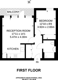 Large floorplan for Tooting High Street, Tooting, SW17