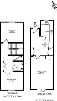 Large floorplan for Harbord Close, Denmark Hill, SE5