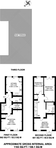 Large floorplan for Fitzpatrick Road, Oval, SW9