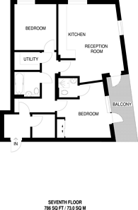Large floorplan for Hallsville Quarter, Canning Town, E16