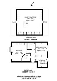 Large floorplan for Peckham Road, Peckham, SE15