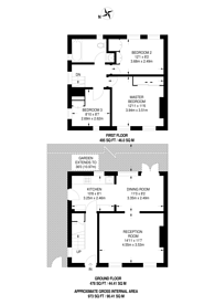 Large floorplan for Moyne Place, Park Royal, NW10